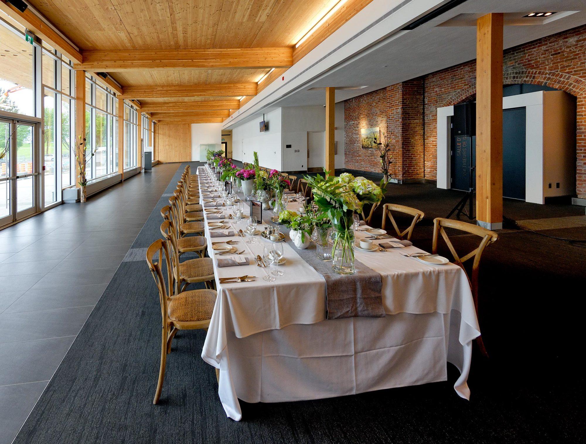 Diner thématique ville de Québec
