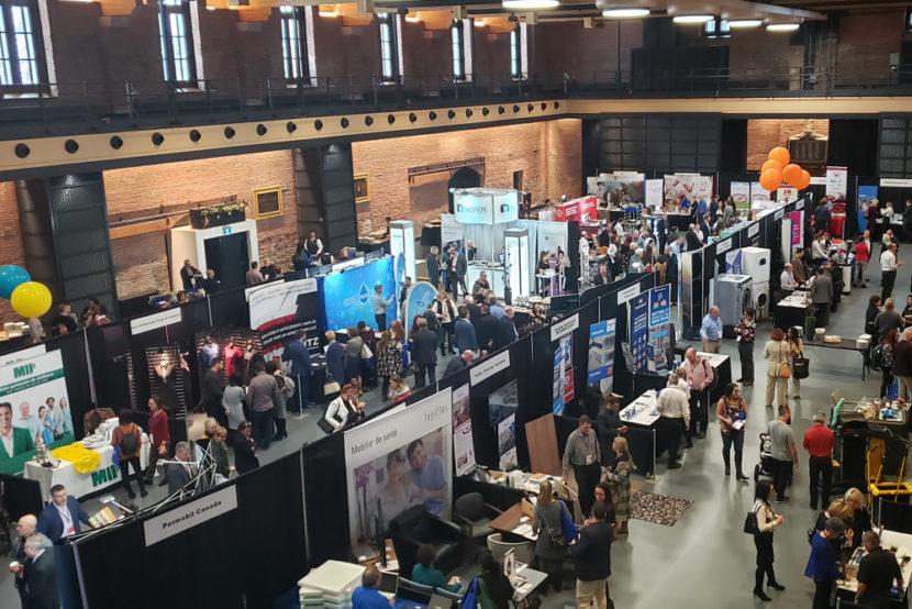 Salle d'exposition à Québec