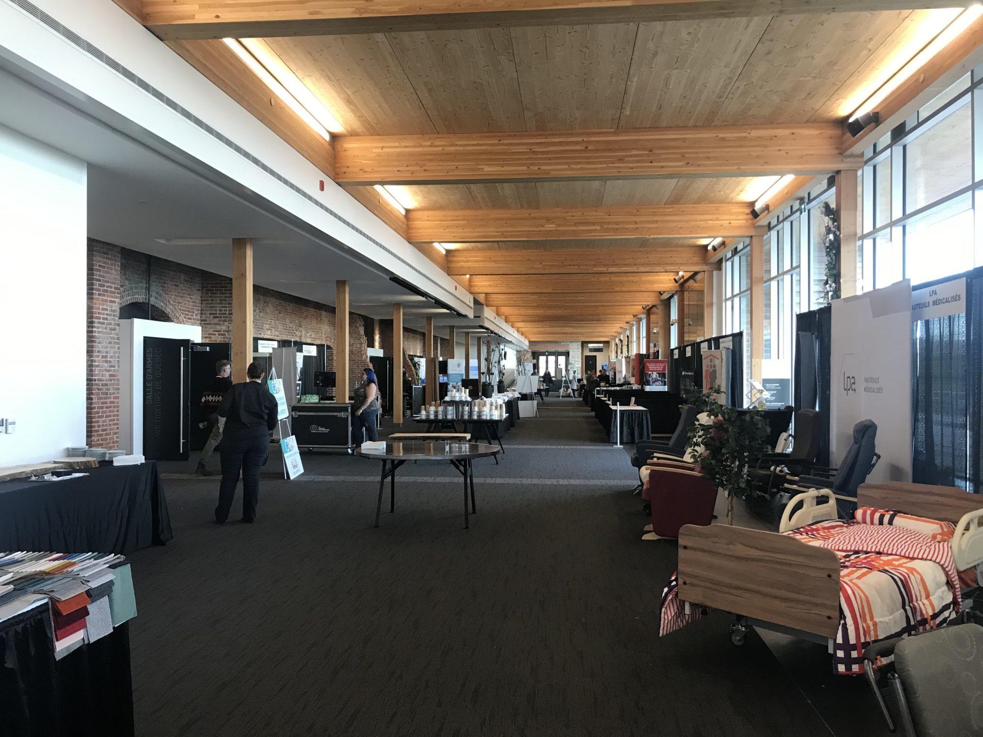 Louer salle exposition ville de Québec
